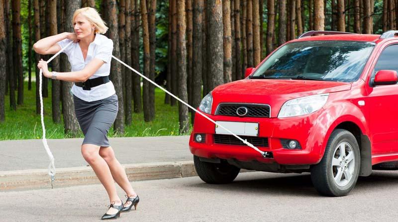 cara mengatasi mobil mogok